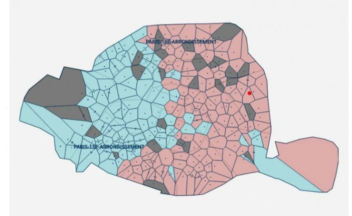 A Paris, Juppé est en tête dans les quartiers de gauche et immigrés