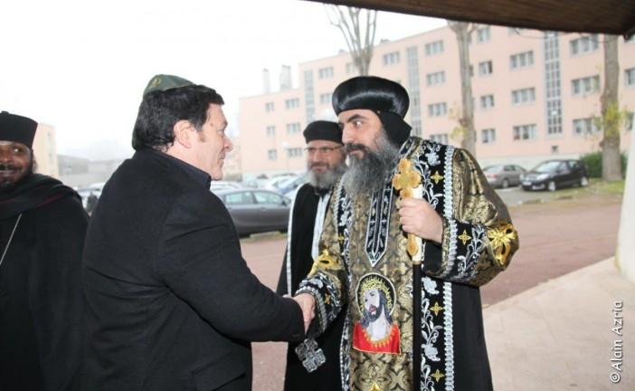 GIL TAIEB Vice President du CRIF était présent afin de témoigner du soutien de la communauté juive aux victimes du terrorisme islamique