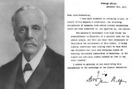 Pas d'excuses de Londres pour la déclaration Balfour