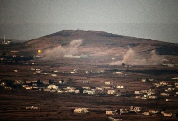 Un missile israélien abat une «cible» au-dessus du Golan