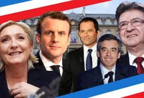 Présidentielle 2017 : A 17h30:   Emmanuel Macron : 23,8 % Marine Le Pen : 22,3 %