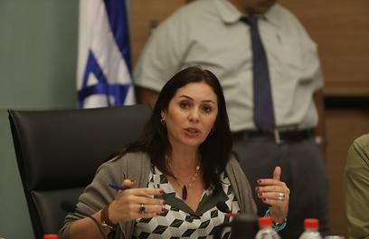 Le ministre de la Culture d'Israël, Miri Regev