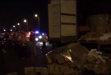Choc à Yavné | Des jeunes israéliens se disputent au bord de la route, un camion passe et tue trois d'entre eux