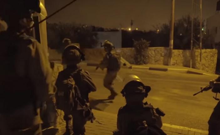 Regardez la video de nos jeunes : Le Raid de Tsahal dans le village du terroriste d'Har Adar