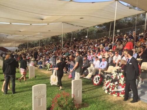 Commémoration du 100e anniversaire de la Bataille de Beersheva, 1ère victoire britannique sur les Ottomans1