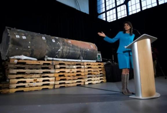 Washington présente des preuves «irréfutables» de ventes d'armes iraniennes