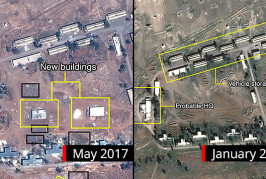 Syrie: bombardements israéliens contre 12 positions syriennes et iraniennes