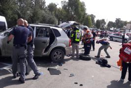 Israël: 4 blessés dans une attaque terroriste à la voiture-bélier