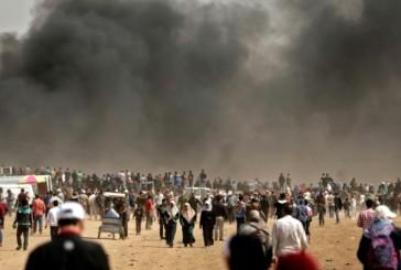 GAZADes heurts éclatent à la frontière avec Israël avant l'ouverture de l'ambassade US à Jérusalem. Suivez notre direct sur place.