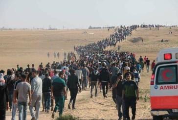 Journée de tous les dangers à la frontiere entre  Israel  Gaza