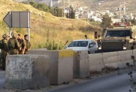 attaque contre des véhicules israéliens, les suspects recherchés