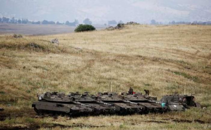 Alerte : l'armée Israélienne en état d'alerte  dans le  Golan