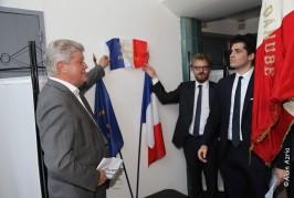 France : – HOMMAGE AUX VICTIMES DU TERRORISME ET AUX FORCES DE L' ORDRES 18 JUIN 2018 ( Echo Photo Alain AZRIA)