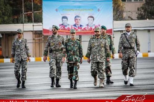 Le général de brigade Shahrokh Daïpour