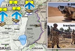 Mise à jour: les forces iraniennes et du Hezbollah opérant dans le sud de la Syrie près de la frontière israélienne portent des vêtements civils  * Surveillance de la terreur *