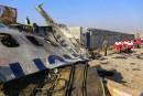 Video : Une nouvelle video montrant un missile frappant l'avion Ukrainien