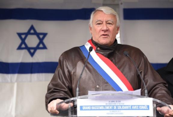 Le député  et grand ami d'Israel  Claude Goasguen est décédé