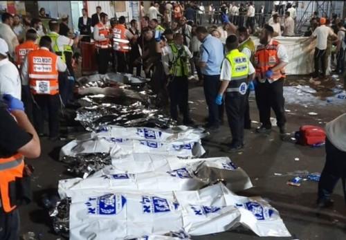 44 morts Meron