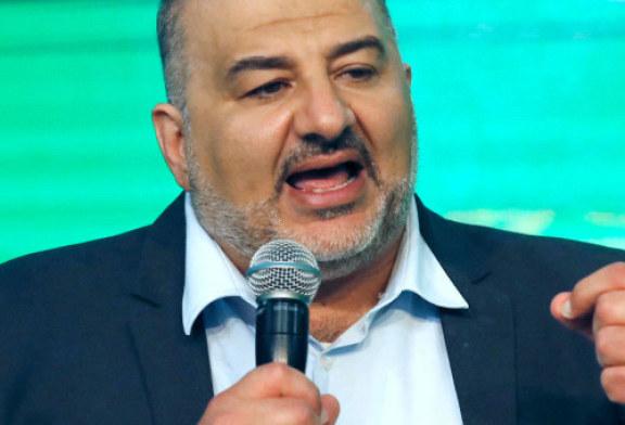«La marche des drapeaux est une provocation effrénée» estime Mansour Abbas