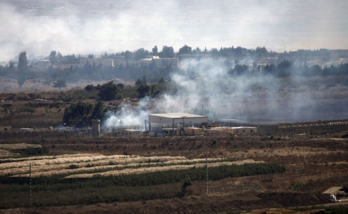 Deux obus de mortier tirés de Syrie tombent côté israélien du Golan