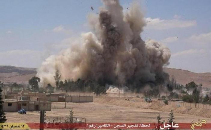 Syrie : Daech détruit la prison de Palmyre, symbole de la terreur du régime
