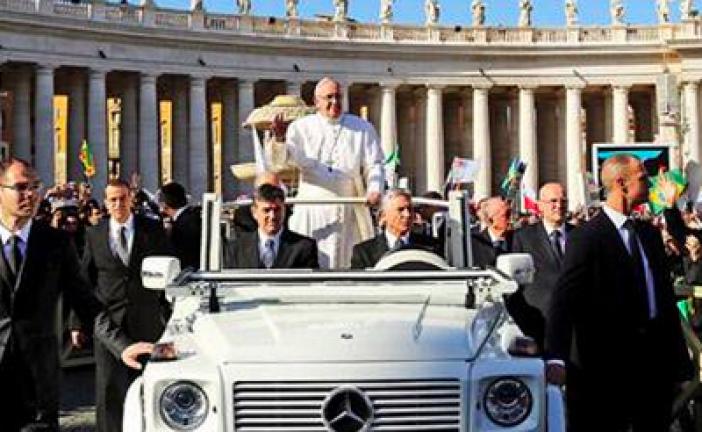 Pape François: « celui qui nie à Israël le droit d'exister est antisémite. »
