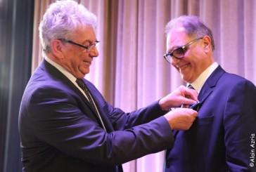 Remise de la médaille du mérite par Jean François Guthmann Président de L'OSE à Marc Cohen à la mairie du 3 eme le 20 mai 2015 par Alain Azria