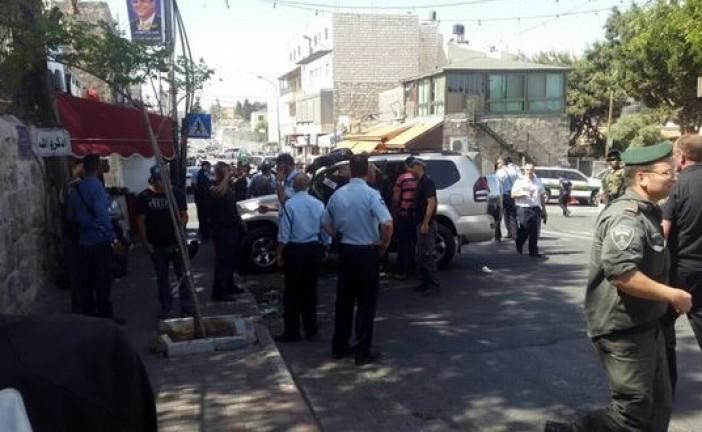 Attentat à la voiture bélier à Jérusalem. Le terroriste a été abattu