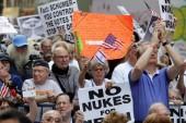 «L'accord sur le nucléaire Iranien est une traîtrise envers Israël»: 10 000 américains manifestent dans les rues de New York !