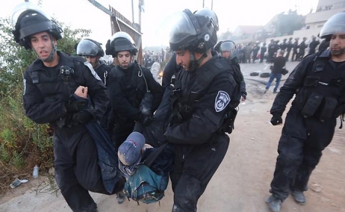 Des violences à Beit-El entre habitants et forces de police.