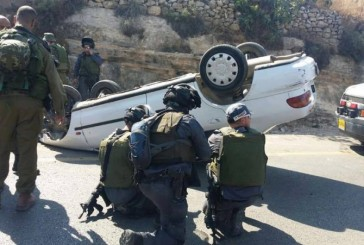 Trois personnes blessées dans une attaque à la voiture bélier en Cisjordanie (armée)