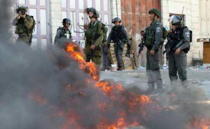 Nouveaux affrontements à Hébron après les funérailles d'une terroriste.