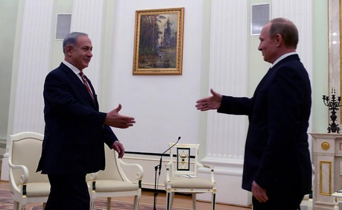 Netanyahou et Poutine sur la liberté de Tsahal à frapper la Syrie en cas de besoin.