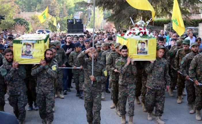 Plus de 1.000 terroristes du Hezbollah ont été tués en Syrie