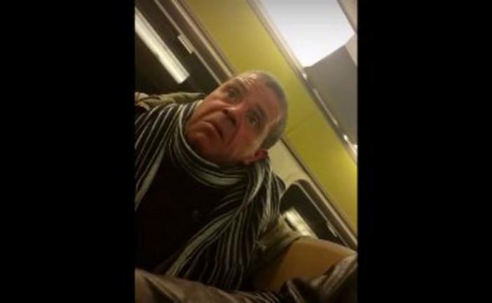 [Vidéo] Agression antisémite verbale par un musulman le 7 décembre 2015 Dans le Rer D vers Melun.