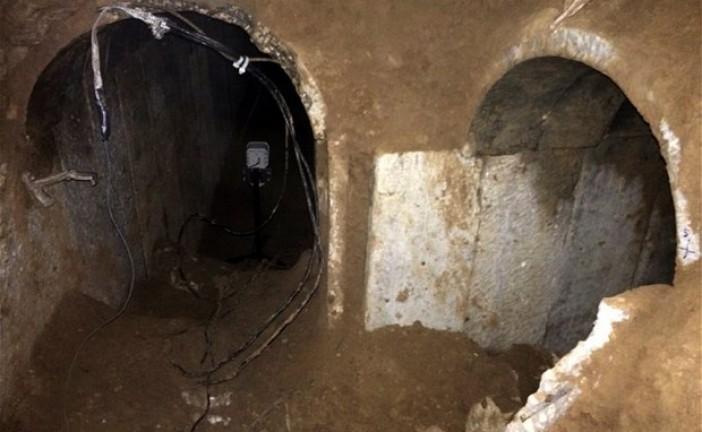 8 morts palestiniens dans l'effondrement d'un tunnel à Gaza.