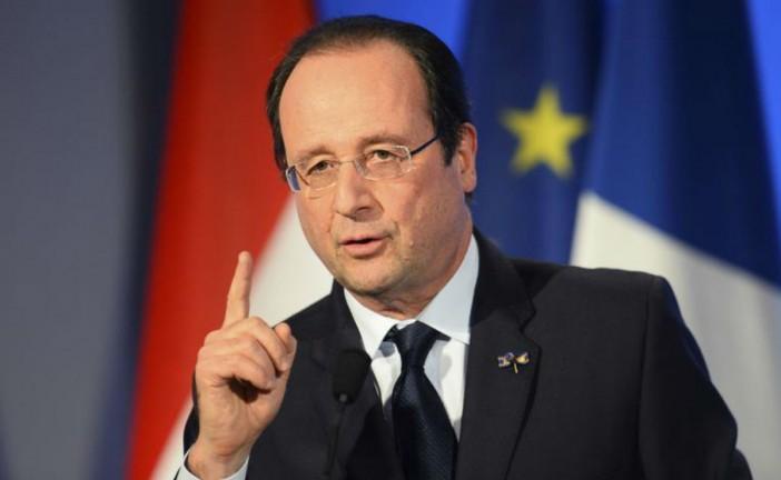 Hollande répond à la vidéo de l'Etat Islamique.