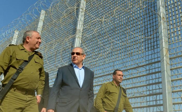 Netanyahou veut entourer Israël de barrières.