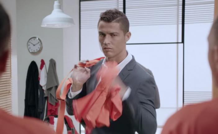 Vidéo: Cristiano Ronaldo tente un mot d'hébreu dans une publicité israélienne.
