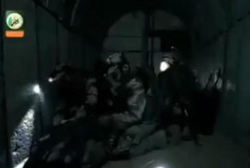 Vidéo: le Hamas montre l'intérieur de ses tunnels