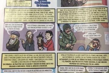 Une BD espagnole illustre des soldats de Tsahal urinant sur des palestiniens et menottant Jésus.