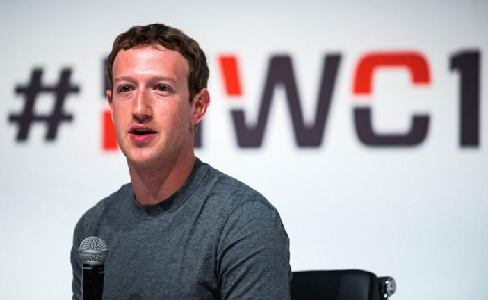 Mark Zuckerberg passe 6ème au classement des plus riches du monde.