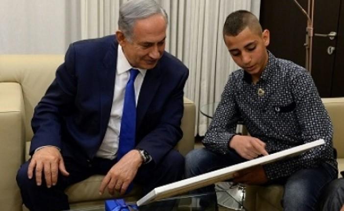 Netanyahou réalise le rêve d'un adolescent arabe israélien.