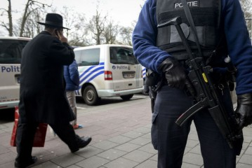 Un jeune Rabbin victime de jets de pierres dans un parc à Bruxelles.