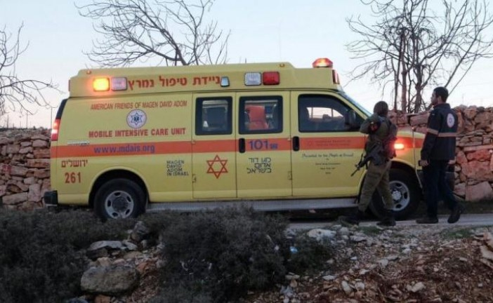 Un policier israélien légèrement blessé dans une attaque au couteau.