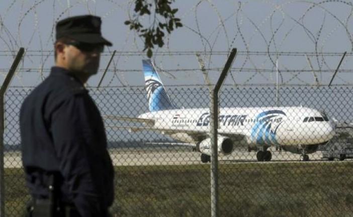Un Avion égyptien détourné par un individu «sans liens avec le terrorisme».