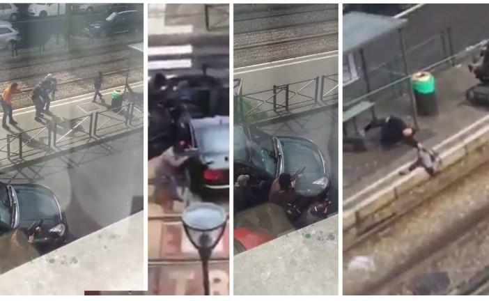 Vidéo: Fin de l'opération antiterroriste à Schaerbeek, un homme interpellé après avoir pris en otage une femme et un enfant