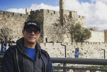 La venue de Jean-Claude Van Damme en Israël provoque la haine des pro-palestiniens.