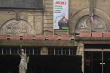 La justice exige le retrait d'une banderole propalestinienne sur la mairie de Stains