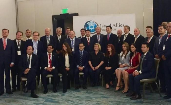 Des députés Sud-américains signent une résolution affirmant leur soutien à Israël